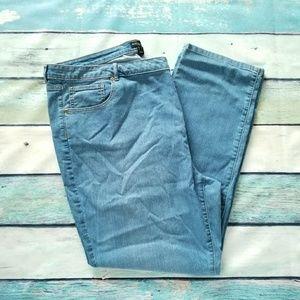 Susan Graver Light Blue Jean